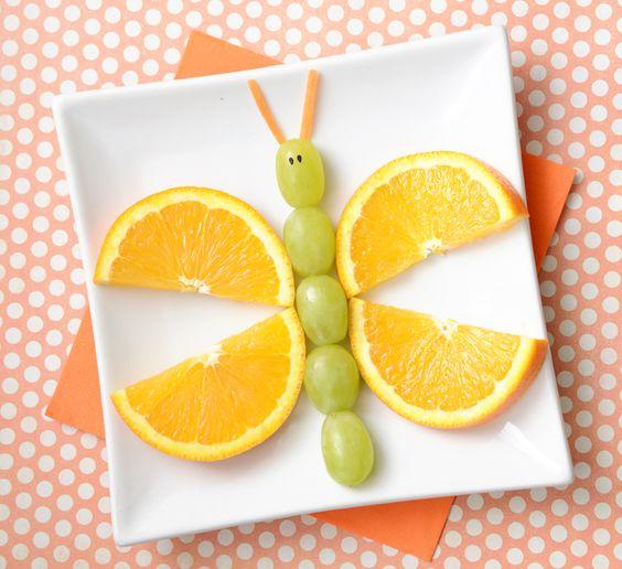 plat de fruits original