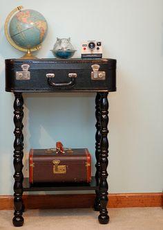 comodini fai da te con valigia 14