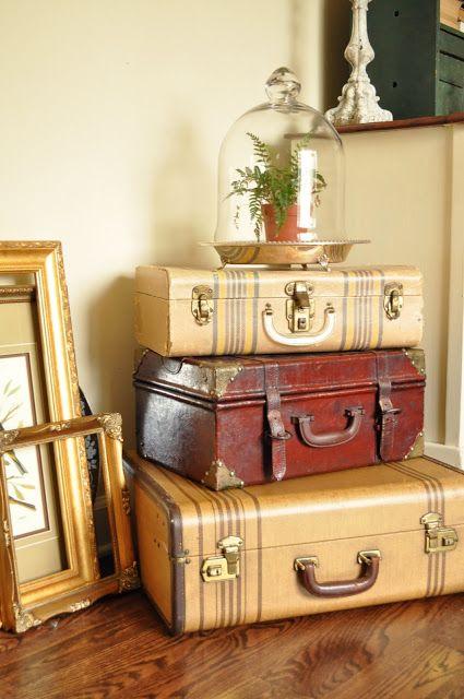 comodini fai da te con valigia 8
