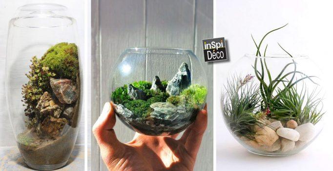 Des mini jardins fait maison! 20 idées pour vous inspirer...