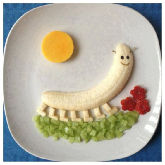 food art con banane 3