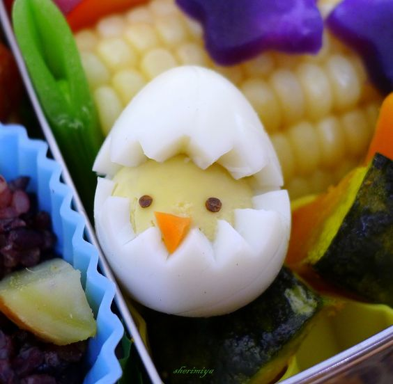 food art uova sode 21