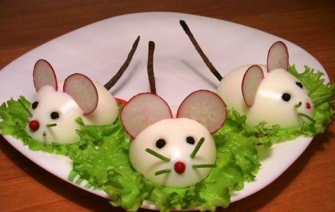 food art uova sode 3