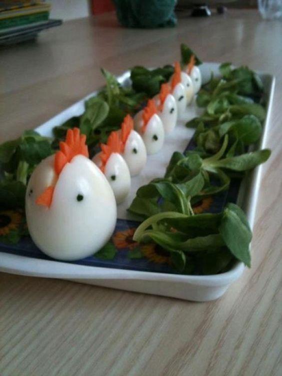 food art uova sode 4