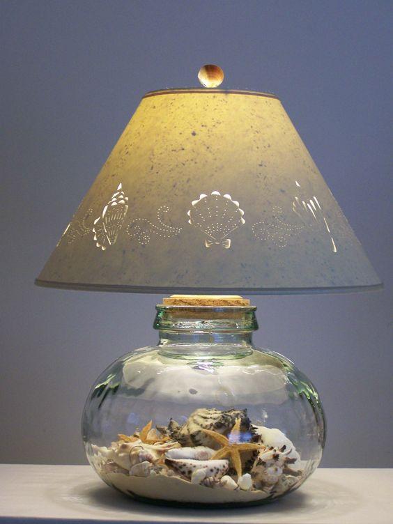 un vase lampe