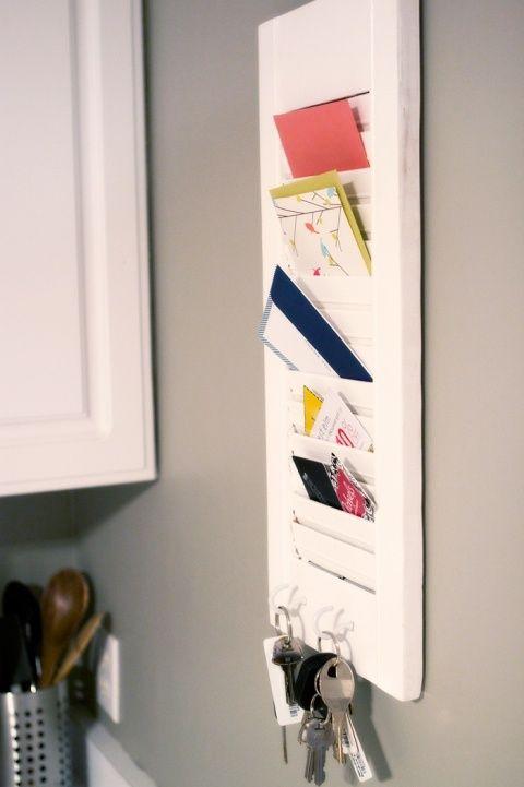 Porte lettre originale fait maison voici 10 id es r cup - Porte photo fait maison ...