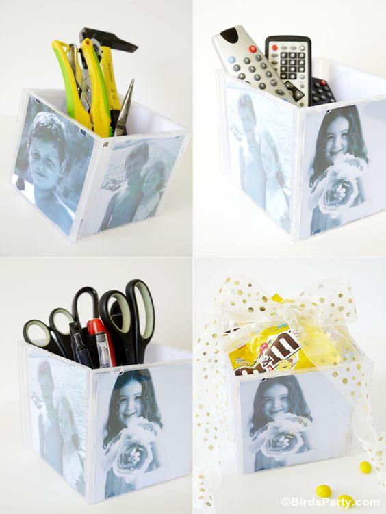 Recyclage creatif des boitiers cd