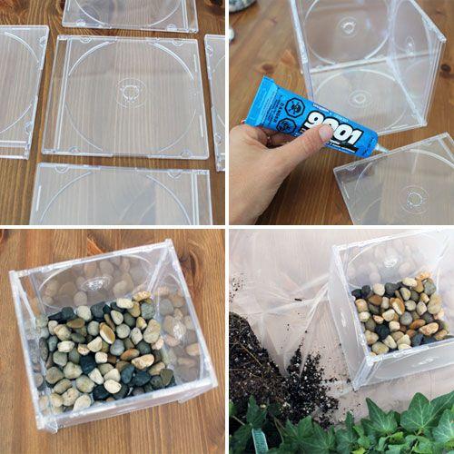 Exceptionnel Recyclage créatif des boitiers cd! 20 idées ML25