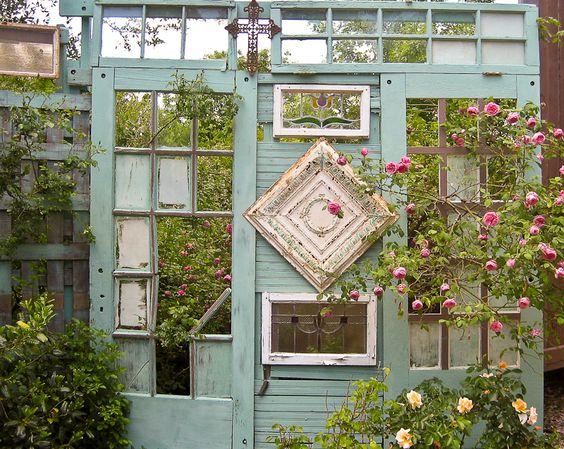 D corer le jardin en recyclant des vieilles portes 20 for Porte 12 fooding