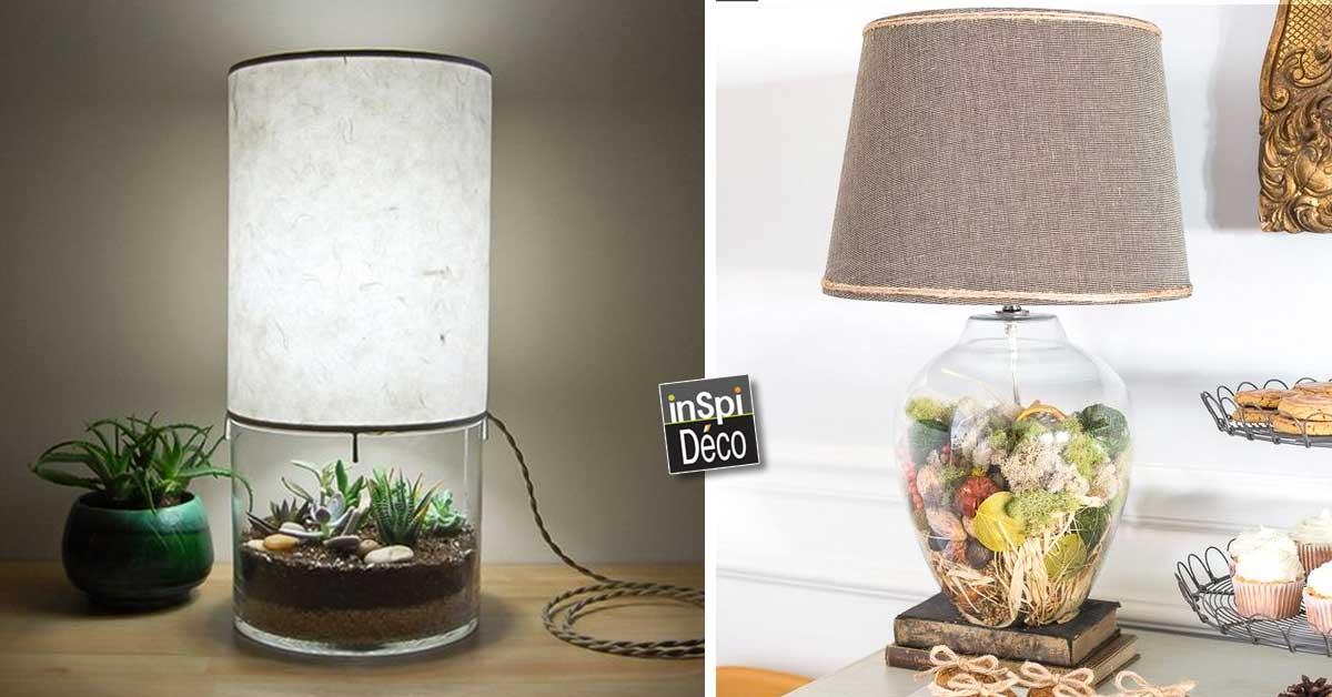 un vase lampe voici 20 id es d co diy pour vous inspirer. Black Bedroom Furniture Sets. Home Design Ideas