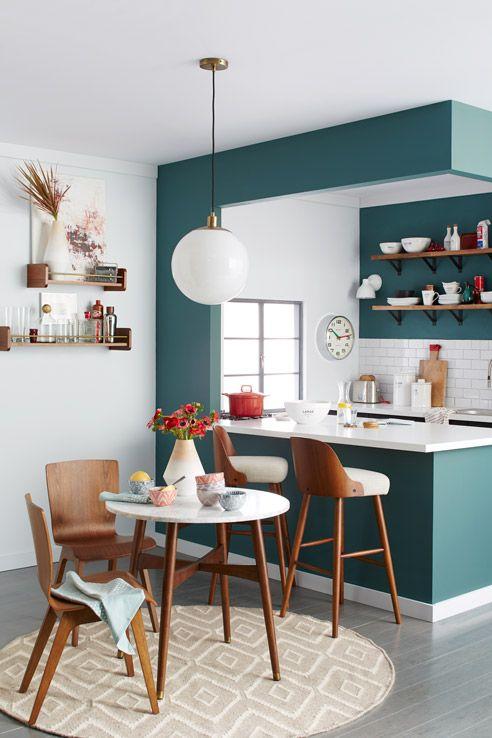 aménager une petite salle à manger! voici 43 idées... - Amenagement Cuisine Ouverte Avec Salle A Manger