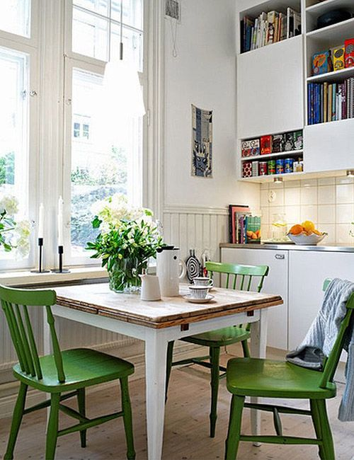Develop A Small Dining Room