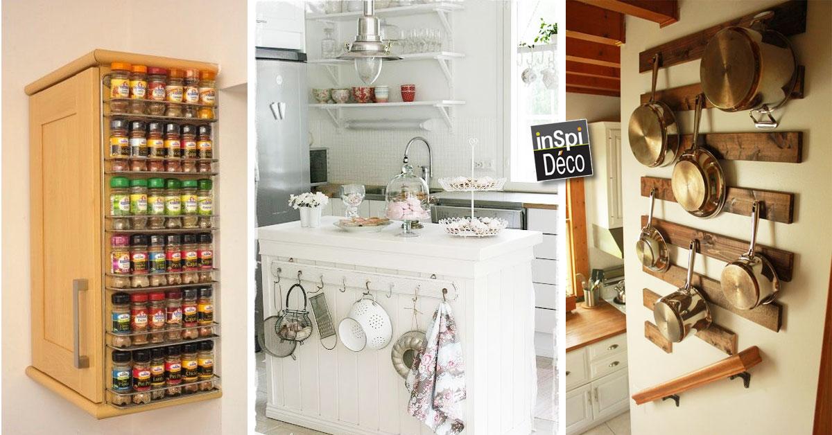 Astuces pour gagner de la place dans votre cuisine 20 id es for Astuces de cuisine