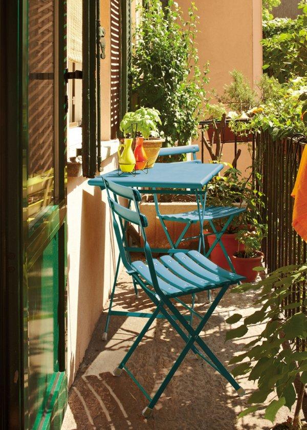 balcone colorato