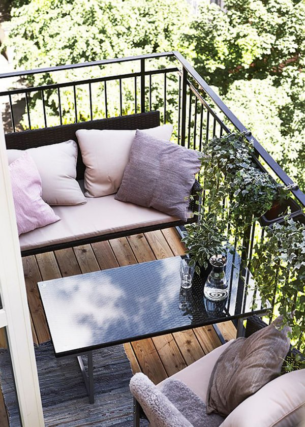 balcone salone