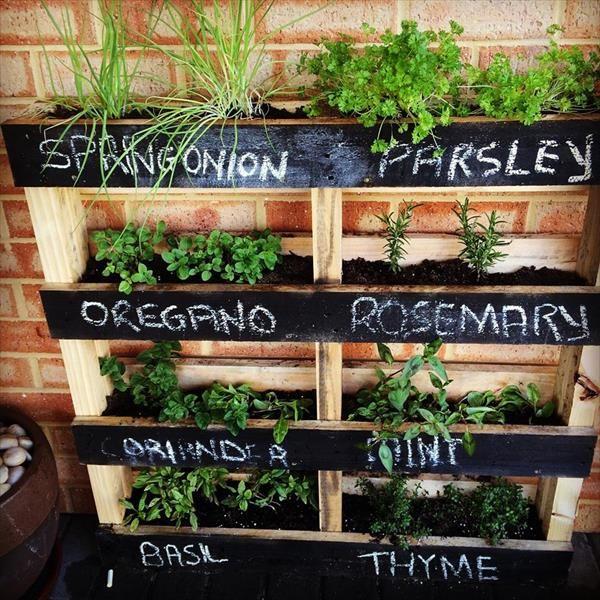 Une jardini re avec palette tr s d co 9 id es tutoriel - Fabriquer une jardiniere avec des palettes ...