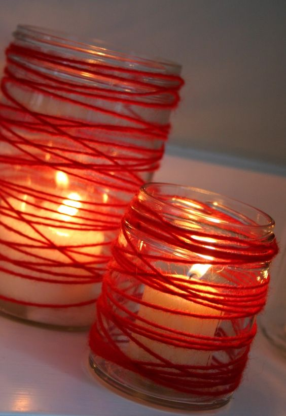 candele fai da te originale 17