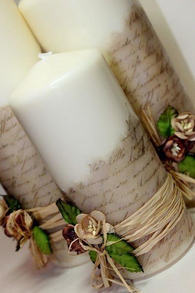 candele fai da te originale 7