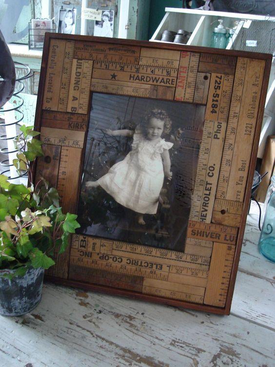 Cadre photo en mat riaux recycl s voici 20 id es cr atives - Cadre photo fait maison ...
