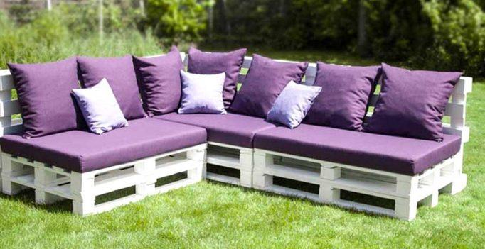 Fabulous Fabriquer un canapé en palette! 20 idées + vidéo tutoriel ME51