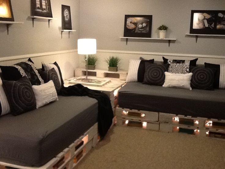 divano fai da te pallet 15