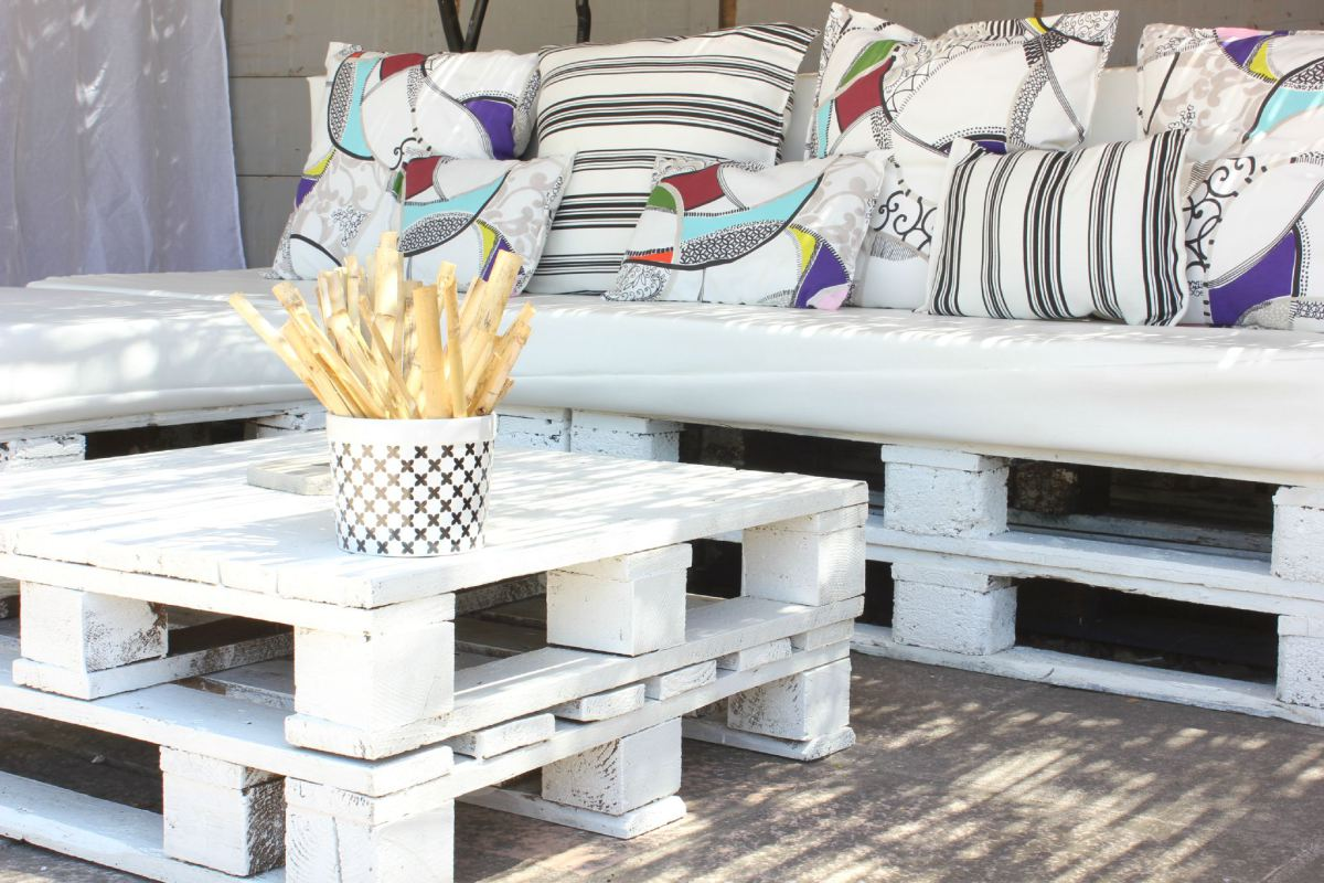 Make A Sofa In Palette 20 Ideas Video Tutorial  # Deco En Palettes