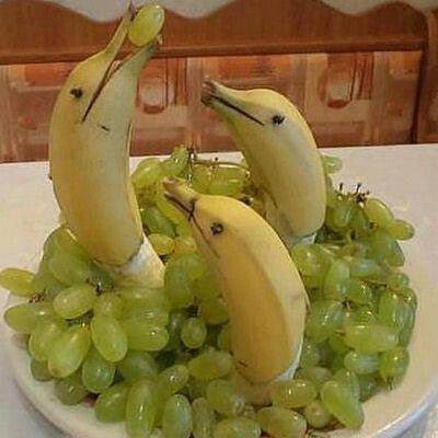 food art banane 3