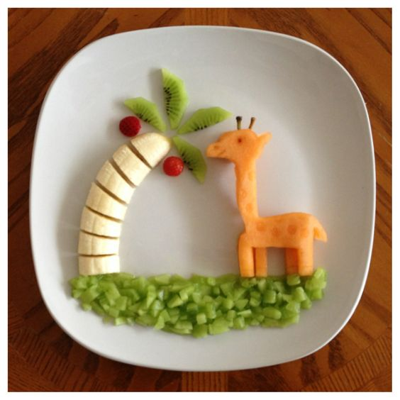 food art banane 9