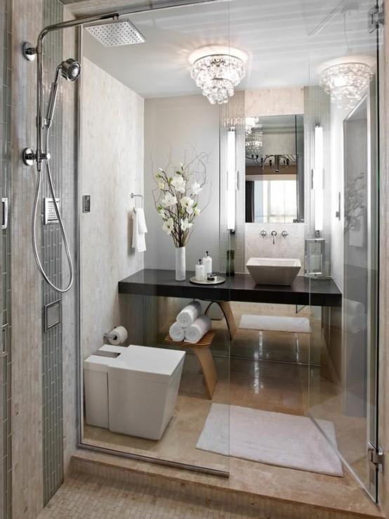 aménager une petite salle de bain! voici 26 idées... - Idee Arredamento On Line