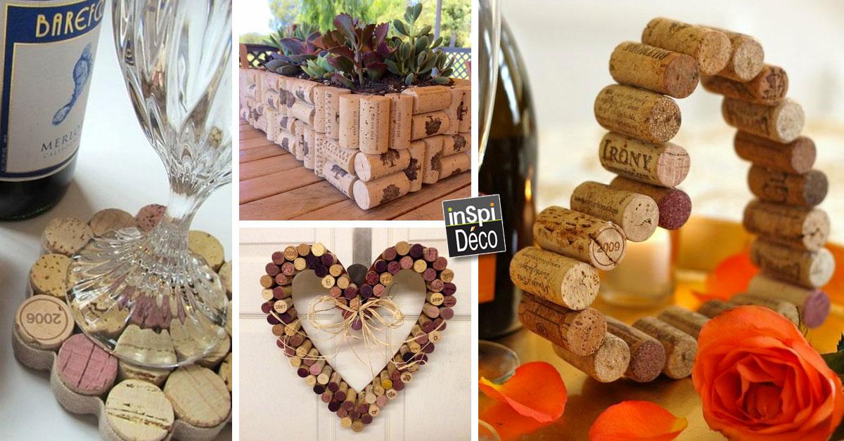 decoration mariage bouchon de liege beautiful crer avec les bouchons en lige voici ides pour. Black Bedroom Furniture Sets. Home Design Ideas