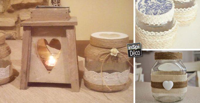 recyclage cr atif des pots nutella 21 id es pour vous inspirer. Black Bedroom Furniture Sets. Home Design Ideas