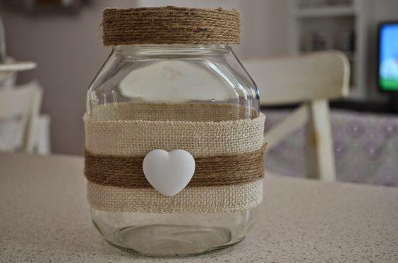 Recyclage créatif des pots Nutella