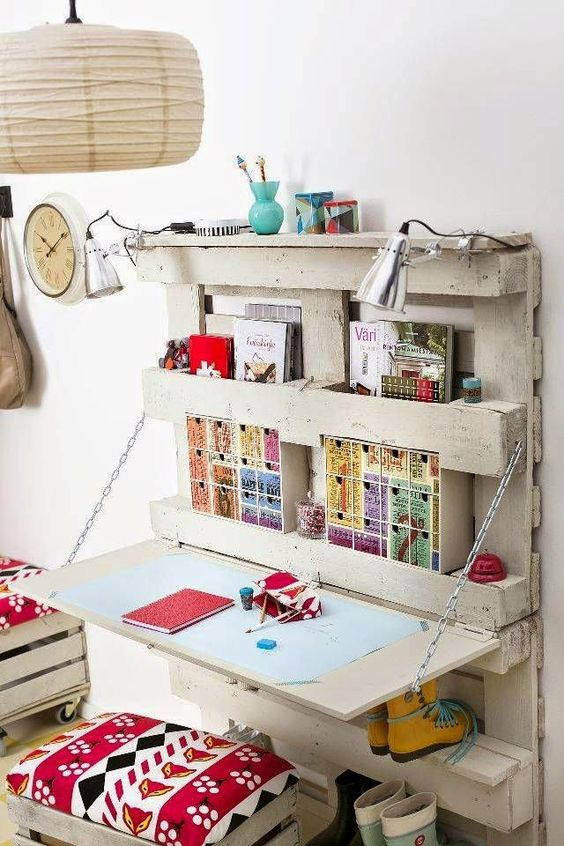 spesso Costruire un ufficio con pallet! 20 idee EZ55