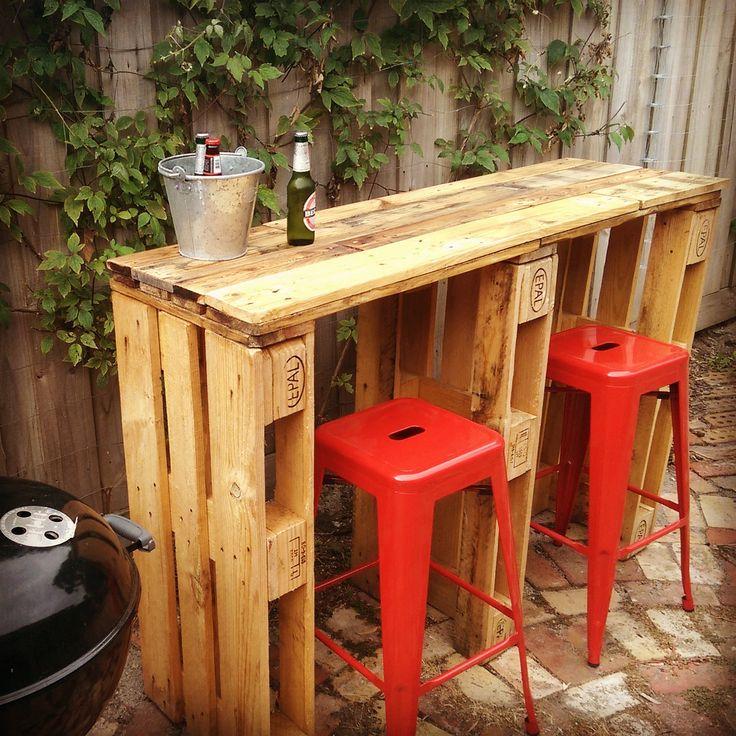 Mini Bar En Bois De Palettes Voici 20 Idees Creatives