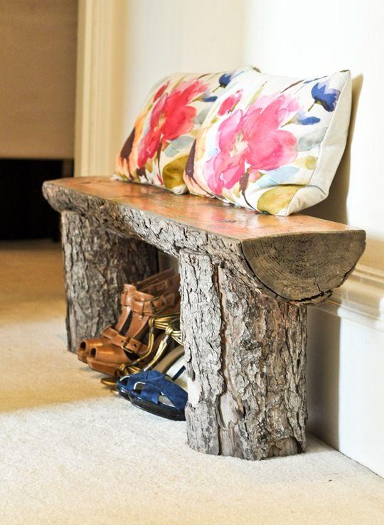 d corer avec un tronc voici 20 id es d co. Black Bedroom Furniture Sets. Home Design Ideas