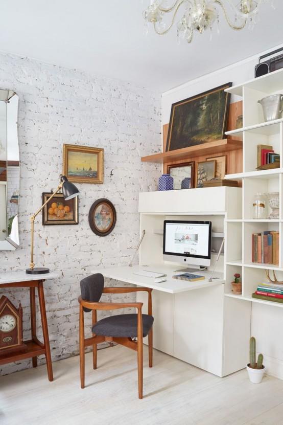 petits bureaux bien aménagés
