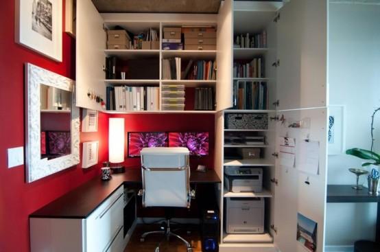 arredare piccolo ufficio casa 33