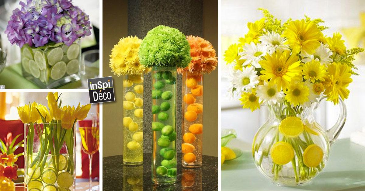 D corer un vase avec oranges et citrons 20 id es for Deco quoi mettre dans un grand vase