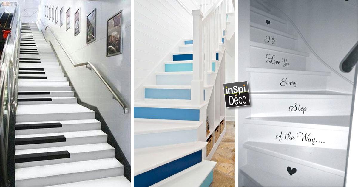 Très Décorer les escaliers de manière créative! Voici 20 idées ZS96