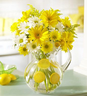 Decorare un vaso con Arance e Limoni