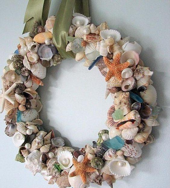 decorazione con conchiglie 13