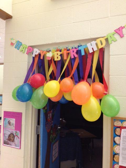 decorazione con palloncini 16