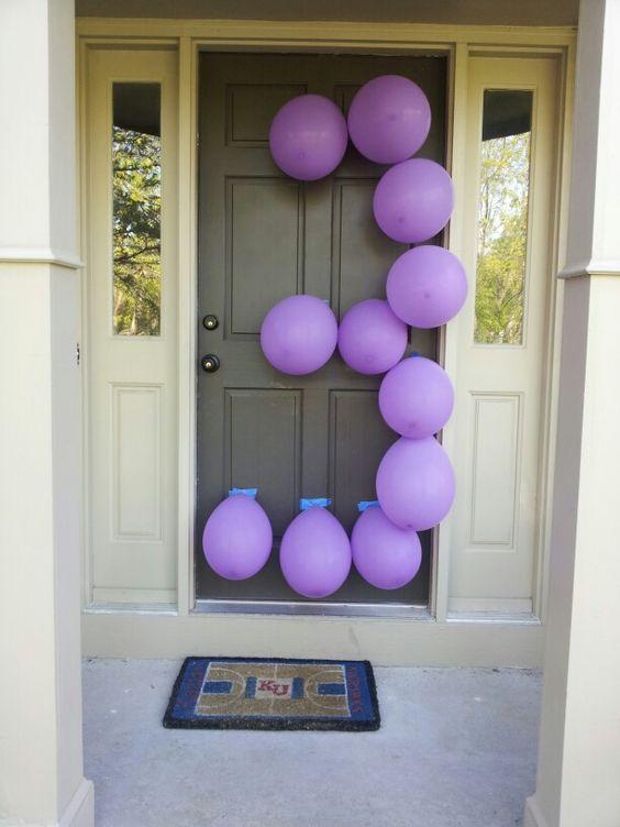 decorazione con palloncini 17