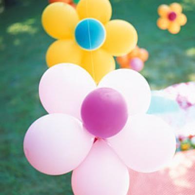 décorer avec des ballons