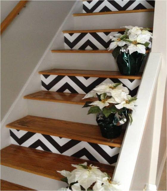 decorazione scale casa 1