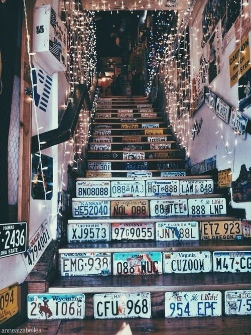 decorazione scale casa 8