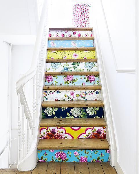 decorazione scale casa 9