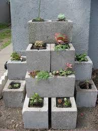 fioriera blocchi di cemento 2