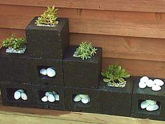 fioriera blocchi di cemento 6