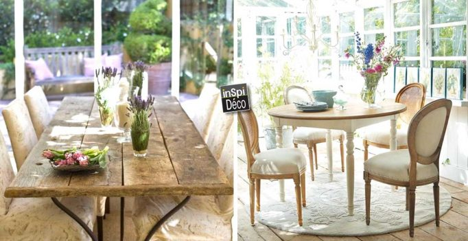 29 ideas for a dining room in shabby chic style and provenal let yourself be inspired